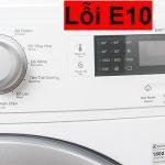 Máy giặt Electrolux báo lỗi E10 - Nguyên nhân và cách khắc phục