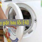 Máy giặt Electrolux báo lỗi E40 - Nguyên nhân và cách khắc phục