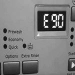Máy giặt Electrolux báo lỗi E90 - Nguyên nhân do đâu ? Khắc phục thế nào ?