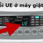 Máy giặt LG báo lỗi UE nguyên nhân do đâu ? Khắc phục thế nào ?