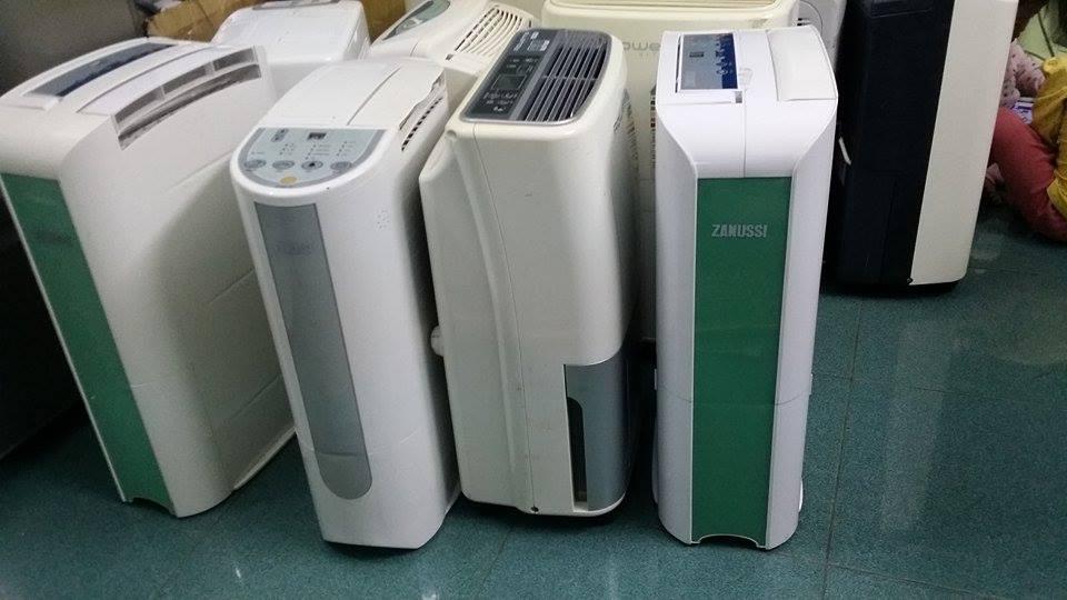 hình ảnh minh họa các hãng máy hút ẩm